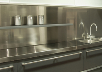 McCandless Township, PA Stainless Steel Countertop