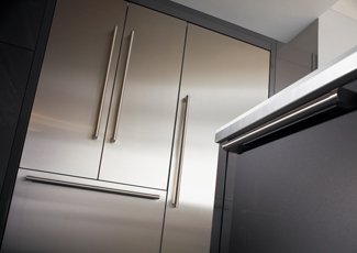 Munhall, PA Stainless Steel Kitchen Cabinets