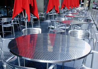 Munhall, PA Stainless Steel Dining Table